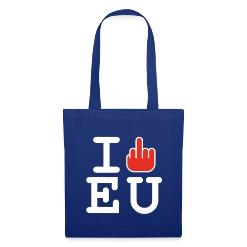 I f*ck EU European Union Brexit - Tote Bag