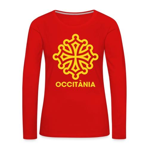 Tshirt manche longue Occitània - femme - T-shirt manches longues Premium Femme