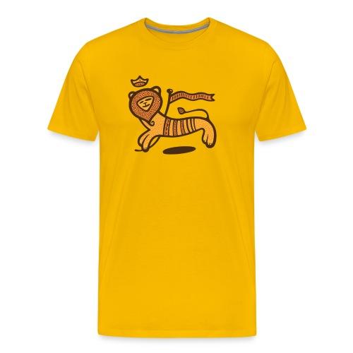 Conquering Lion - Spreadshirt Premium - Männer Premium T-Shirt