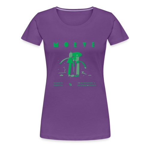 MORVE - T-shirt Premium Femme