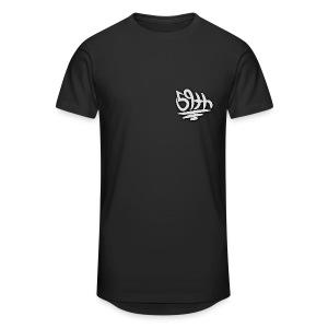 59th Signature Long Body T-Shirt - Men's Long Body Urban Tee