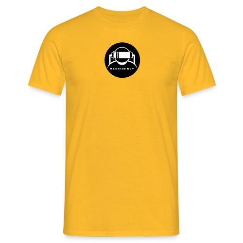 Machine Boy Black Logo Tee!. - Men's T-Shirt