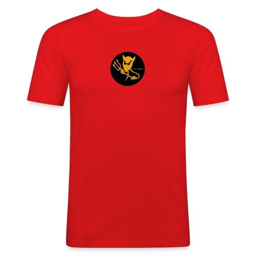 ElectroDevil Logo Mens Slim Fit Tee! - Men's Slim Fit T-Shirt