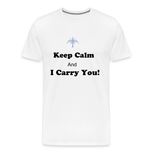Keep calm and i Carry You! - Men's Premium T-Shirt