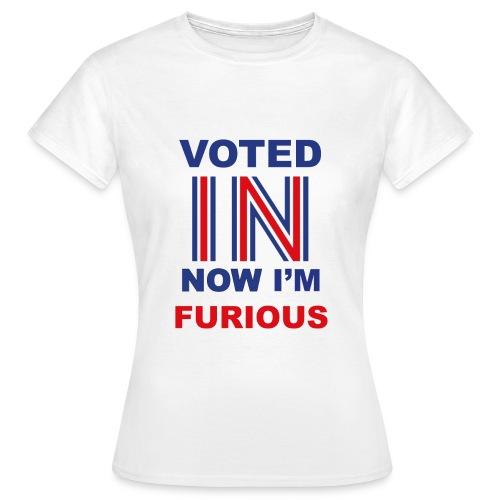 Premium 'Furious' Womens T-Shirt - Women's T-Shirt