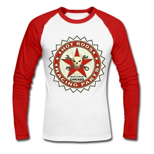 Hot Rods racing parts - Men's Long Sleeve Baseball T-Shirt