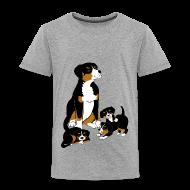 Shirts ~ Kids' Premium T-Shirt ~ Entlebucher and puppies