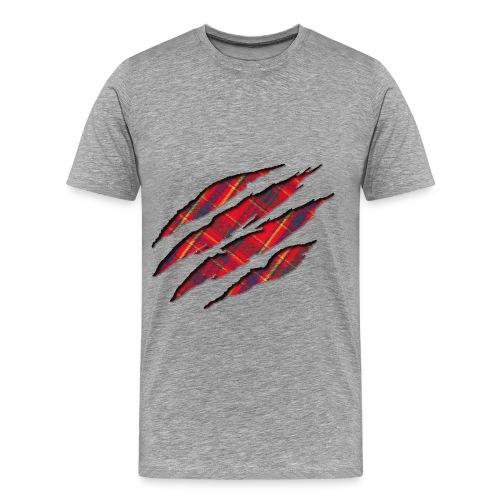 Scottish under Skin - Männer Premium T-Shirt