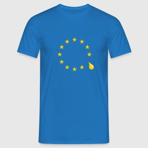 Sad that the UK is leaving the European Union - Men's T-Shirt