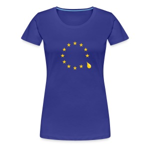 Sad that the UK is leaving the European Union - Women's Premium T-Shirt