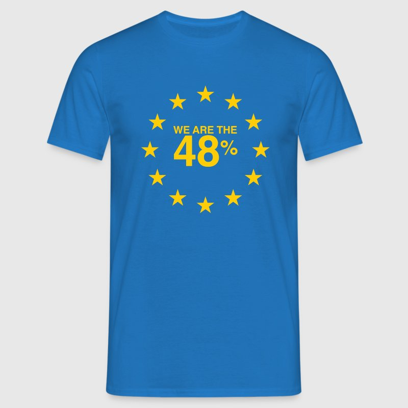I voted Remain 48% - Men's T-Shirt