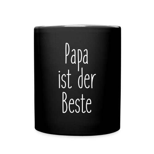 Papa ist der Beste - Tasse einfarbig
