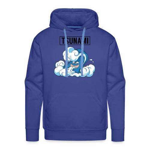 Royal Blue - Tsunami Hoodie - Men's Premium Hoodie