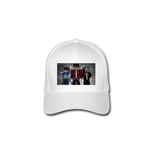 casquette team-tnt blanc - Casquette Flexfit