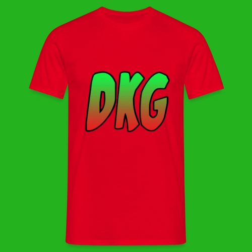 Red DKG Shirt - Mannen T-shirt