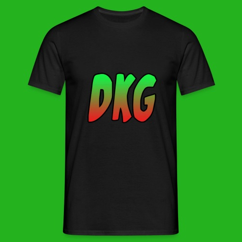 Black DKG Shirt - Mannen T-shirt