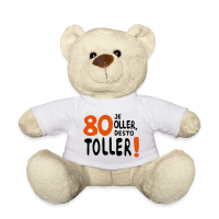80. Geburtstag Spruch Teddybär