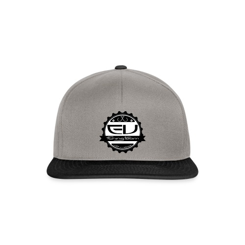 Snapback EV Fishing Team (Grey/Black) - Casquette snapback