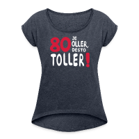 80. Geburtstag Spruch Frauen T-Shirt