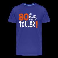 80. Geburtstag Spruch Männer T-Shirt