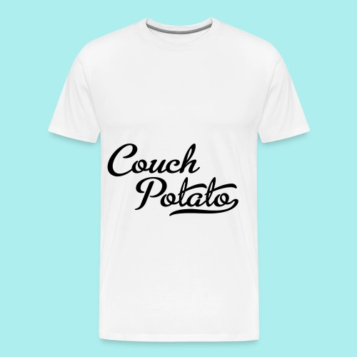 coucn potato tshirt - Men's Premium T-Shirt