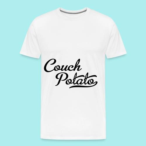 coucn potato tshirt - Men's Premium T-Shirt