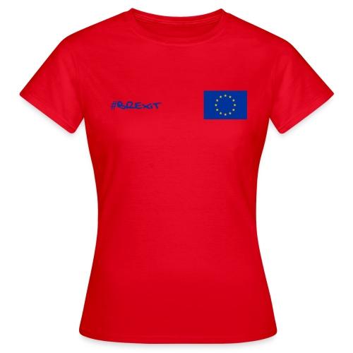 Womens EU Leavers T Shirt - Red - Women's T-Shirt