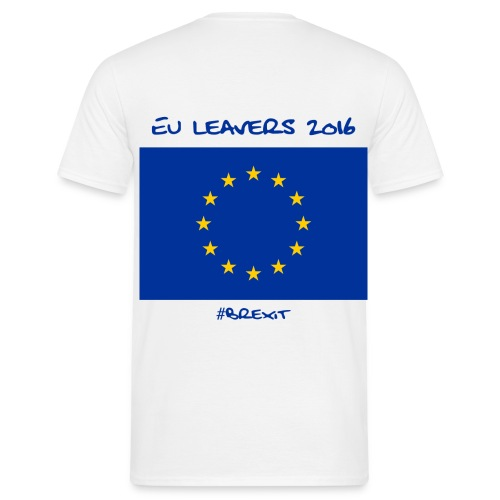 Mens EU Leavers T Shirt - Men's T-Shirt