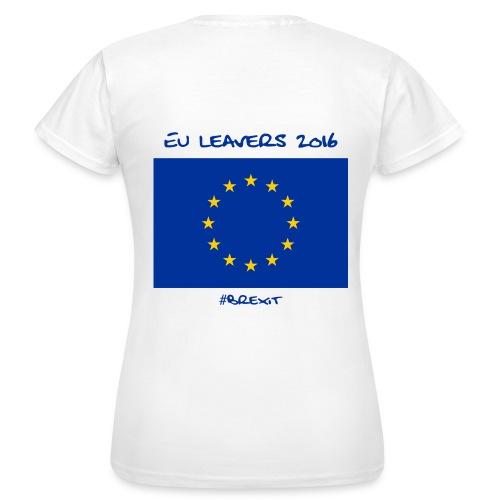 Womens EU Leavers T Shirt - White - Women's T-Shirt