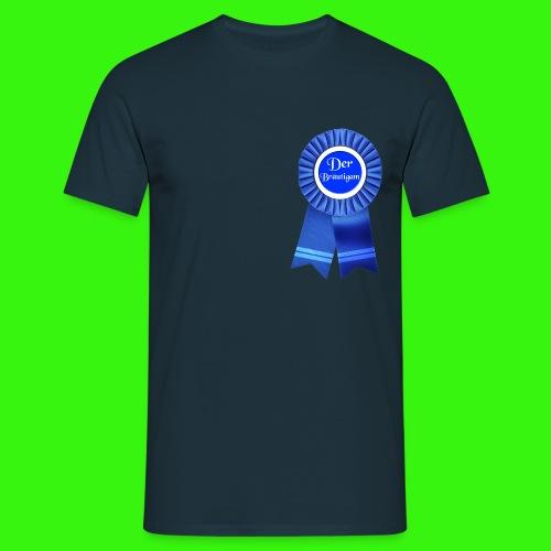 Bräutigam Abzeichen T-Shirts - Männer T-Shirt