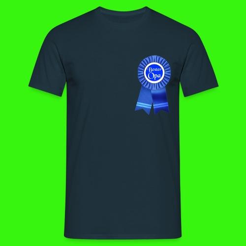 Bester Opa Auszeichnung T-Shirts - Männer T-Shirt