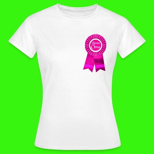 Beste Oma Auszeichnung T-Shirts - Frauen T-Shirt
