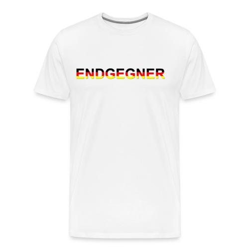 Endgegner - Männer Premium T-Shirt