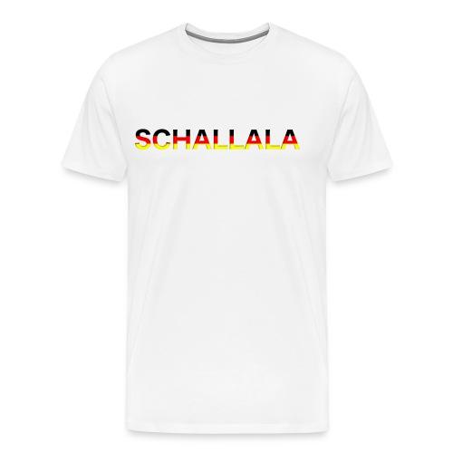 Schallala - Männer Premium T-Shirt