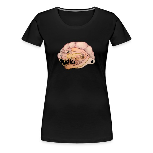 Angry Brain (Woman) - T-shirt Premium Femme