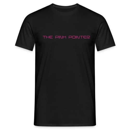 the pink pointer - Männer T-Shirt