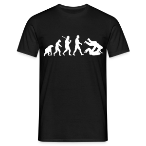 Evolution: Judo/Jiu Jitsu - T-shirt Homme