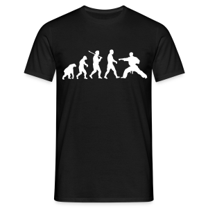 Evolution: Karate - Tee shirt Homme