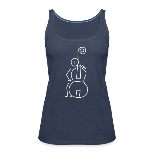 Double bassist - Women's Premium Tank Top