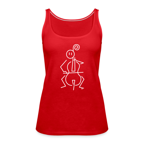 Cellist - Women's Premium Tank Top