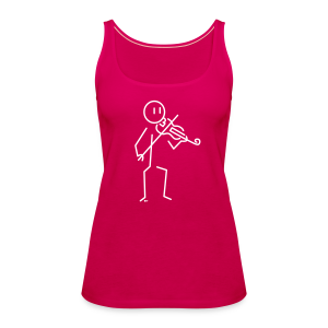 Violinist - Women's Premium Tank Top