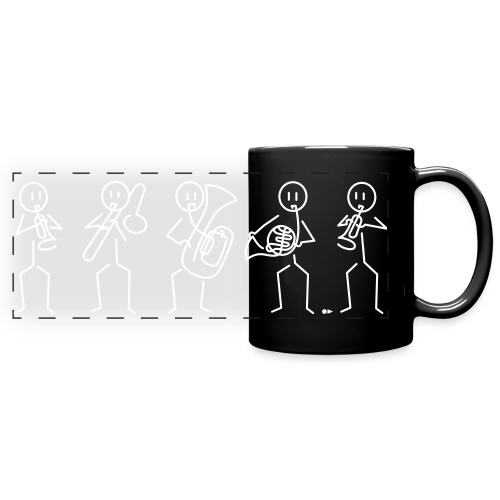 Brass Quintet - Full Color Panoramic Mug