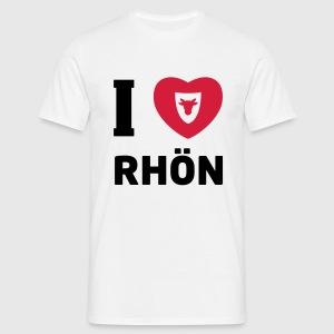 Männer T-Shirt – I Love Rhön - Männer T-Shirt
