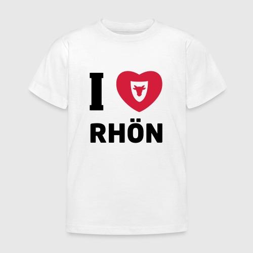 T-Shirt Kinder …I Love Rhön - Kinder T-Shirt