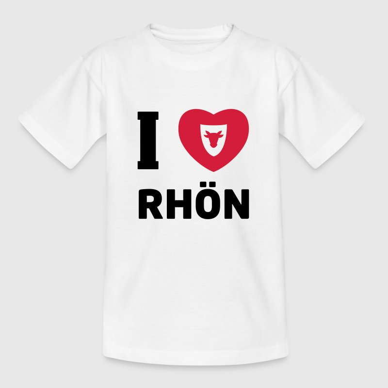 T-Shirt Kinder … I Love Rhön - Kinder T-Shirt
