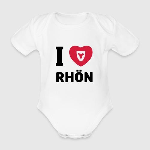 Baby Body – I Love Rhön - Baby Bio-Kurzarm-Body