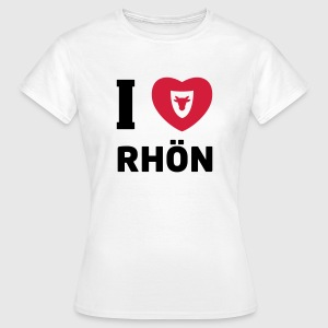 T-Shirt Damen – I Love Rhön - Frauen T-Shirt