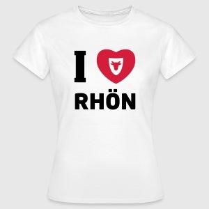 T-Shirt Damen – I Love Rhön - Frauen T-Shirt