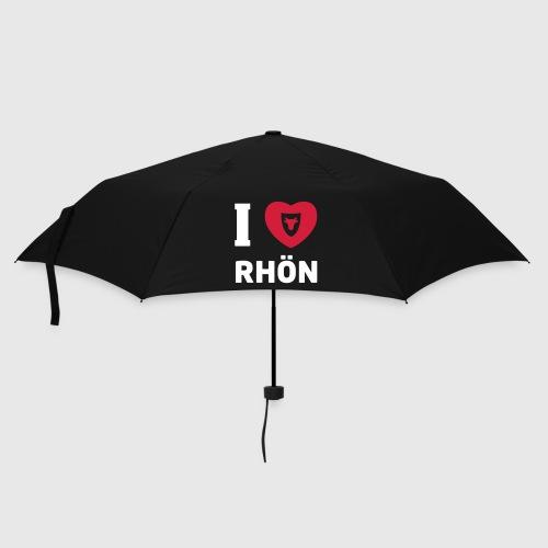 Regenschirm – I Love Rhön - Regenschirm (klein)