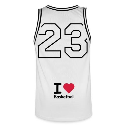 I ♥ Basketball - Maillot de basket Homme